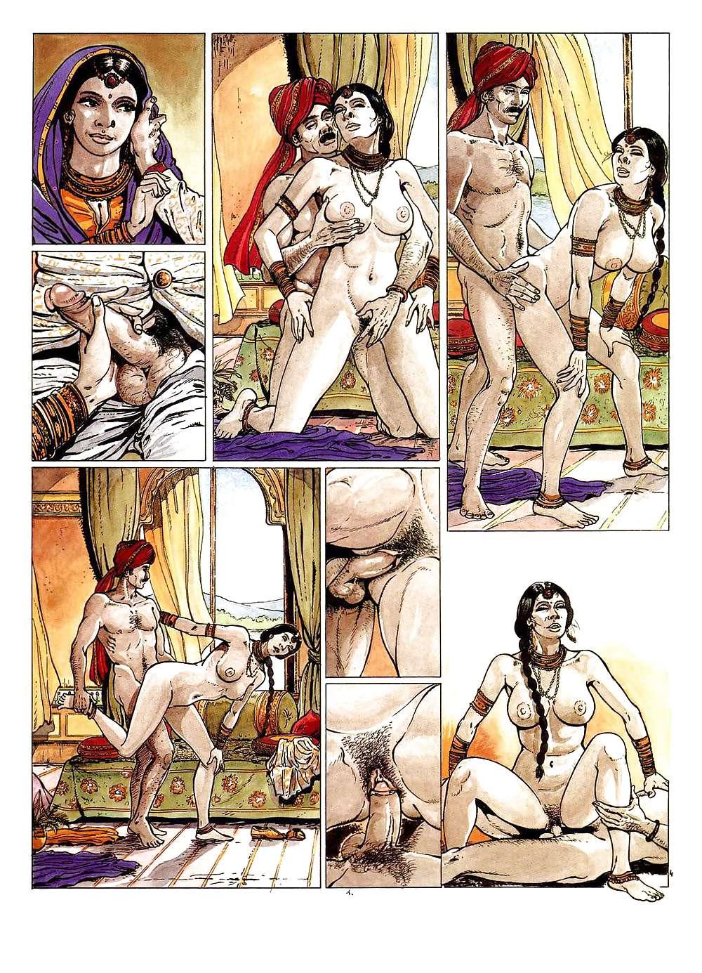 Erotic Comic Art 40 - Kama-Sutra Porn Pics #19691028