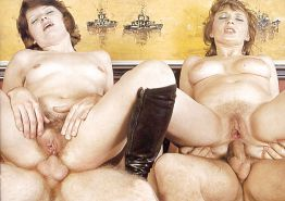 VINTAGE PORN #rec FOURSOME COWGIRLS HARDCORE G1