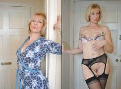 Dressed & undressed beauties 177 (only milf )
