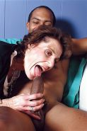 Desperate granny housewife & younger lover
