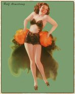 Vintage pin-up drawings 4 (non-nude)