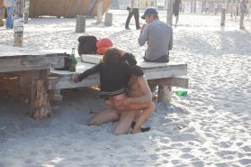 Group Sex Amateur Beach #rec Voyeur G3 #6385812