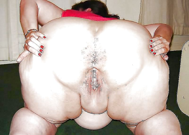 BBW Fat Granny Grannies Oma pussy from behind slideshow Porn Pics #14477059