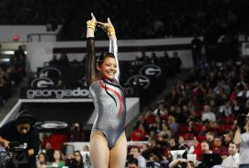 Georgia college gymnast