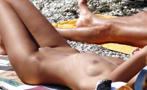 Beautiful Day At the Beach 33 by Voyeur TROC #20355757