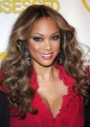 Tyra Banks Launch party for Americas Next Top Model