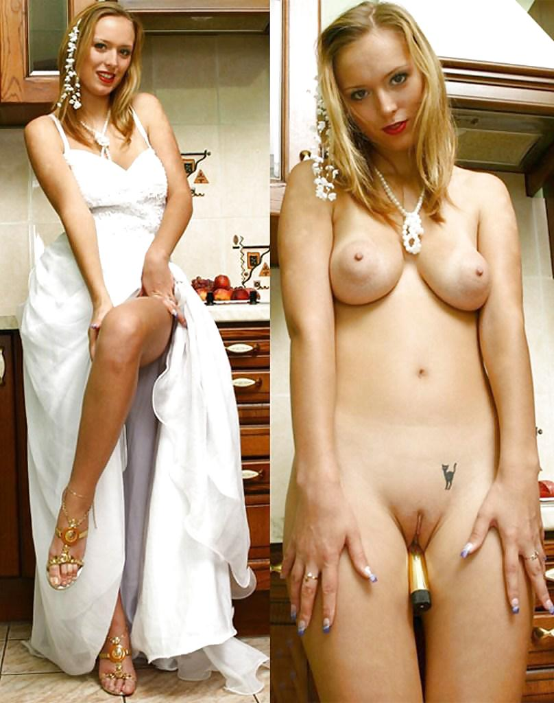 Dressed and undressed wives milf housewives Porn Pics #5166009