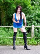 Teen Slag Tanya Hitch Hiking After a Party