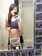 Amateur Teen Naked in Bathroom
