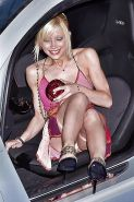 Beautiful Celebs Upskirt 4 by Voyeur TROC
