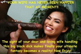 Asian wives loves big black cock!!