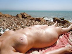Mature women on the beach - 6 #11971214