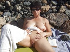 Mature women on the beach - 6 #11971258