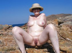 Mature women on the beach - 6 #11971289