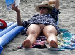 Mature women on the beach - 6 #11971295