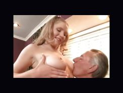Old men loves young tits