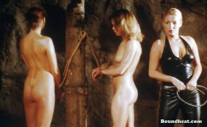 School Of Surrender - lesbian slave and punishment school