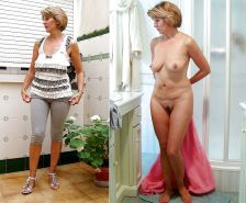 MILF dressed - undressed - 2