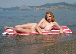 Nudist Beach Fun