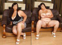 Dressed and undressed beauties 106 (only bbw )