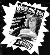 Vintage Magazines Samlet Week-end Sex 26 - 1971 German