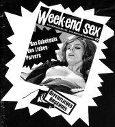 Vintage Magazines Samlet Week-end Sex 26 - 1971 German