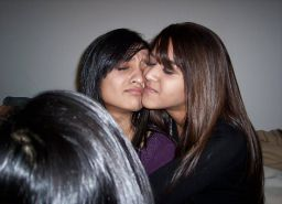 Indian and Pakistani lesbian slags
