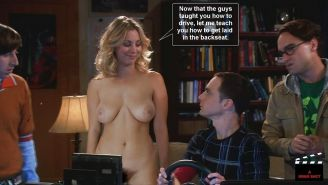 Kaley Cuoco TBBT Captions Part 1