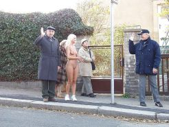 Mix naked and fucked in public 11