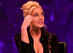 Helen Flanagan - Celeb Juice 18th April 2013