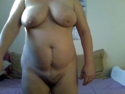 Chubby mature with big boobs