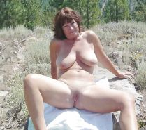 Mature women on the beach - 10
