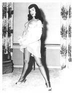Bettie Page collection.