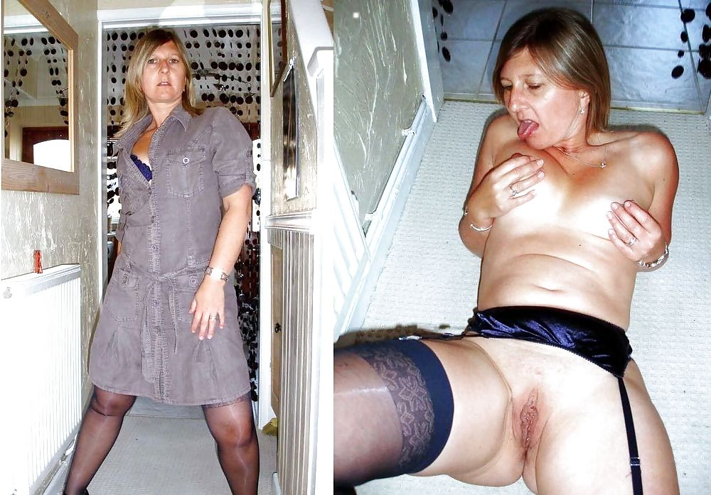 Dressed and undressed wives milf housewives Porn Pics #5214455