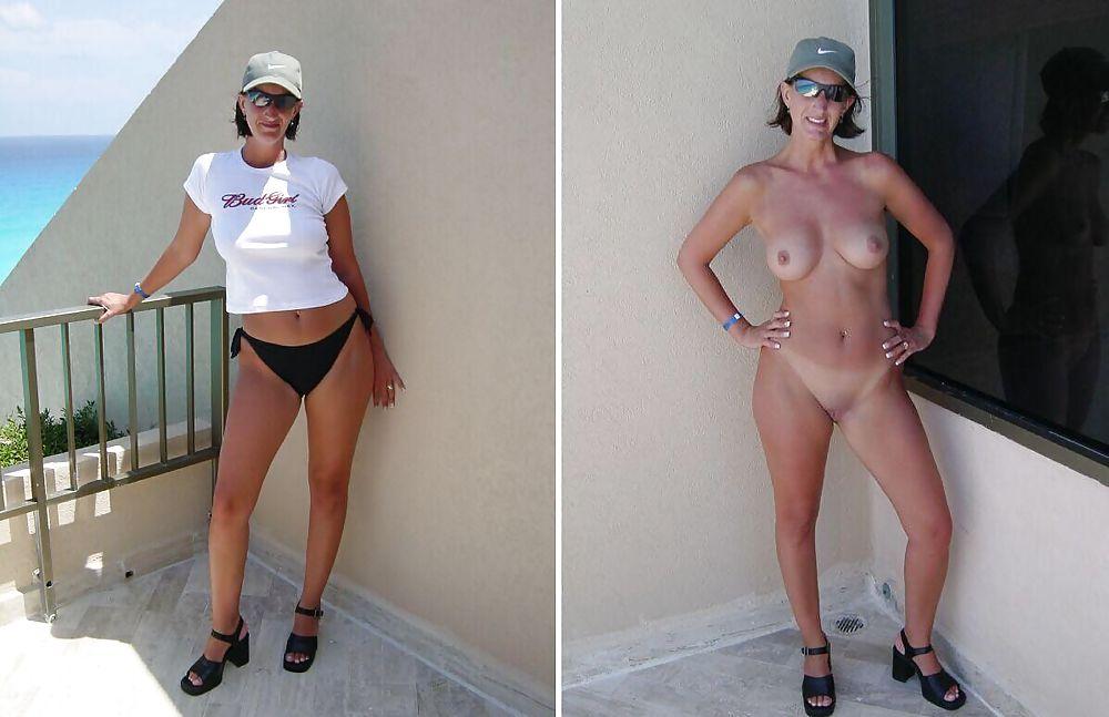 Dressed and undressed wives milf housewives Porn Pics #5214546