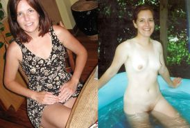 Dressed and undressed wives milf housewives Porn Pics #5214397