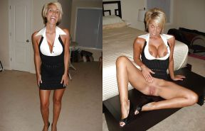 Dressed and undressed wives milf housewives Porn Pics #5214638