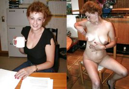 Dressed and undressed wives milf housewives Porn Pics #5214709