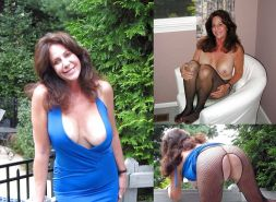 Dressed and undressed wives milf housewives Porn Pics #5214720