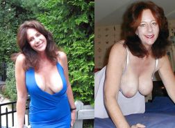 Dressed and undressed wives milf housewives Porn Pics #5214731