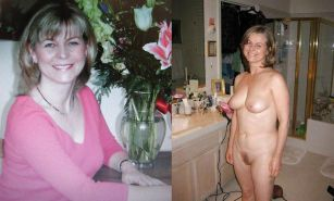 Dressed and undressed wives milf housewives Porn Pics #5214754