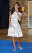 Princess Kate Middleton and her hot feet
