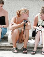 Upskirt Cameltoes #rec Amateur showing pussy PublicNudity 5 #15349531