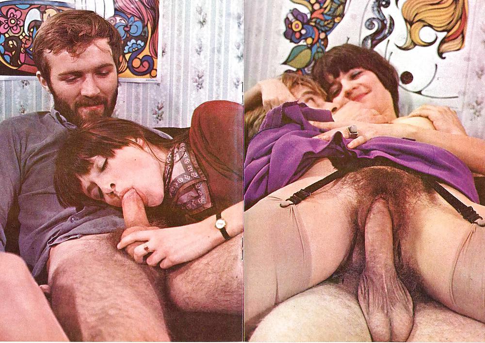 Vintage 60's Hardcore Set - Color Sperma #8260252