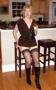 Mature and milf in stocking and boots #16853373