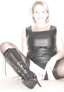 Mature and milf in stocking and boots #16853431