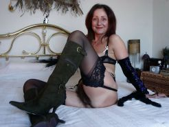 Mature and milf in stocking and boots #16853672