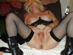 Mature and milf in stocking and boots #16853713