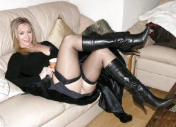 Mature and milf in stocking and boots #16853781