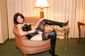 Mature and milf in stocking and boots #16853805